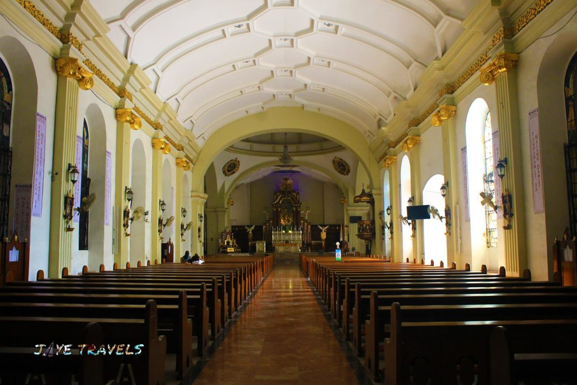 Inside Church Nuestra Senora