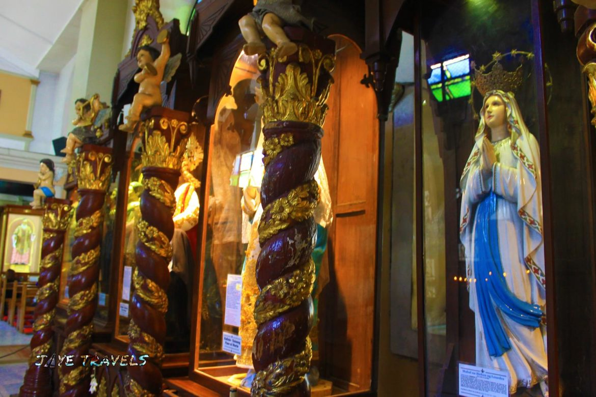 Malolos Cathedral Statues