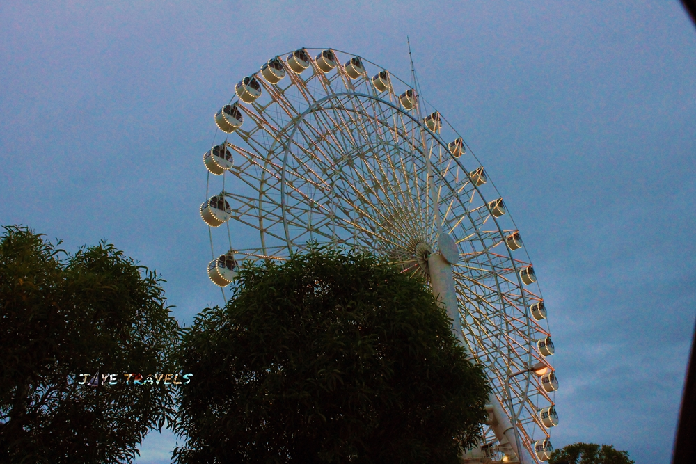 Sky Ranch Pampanga Ferris Wheel