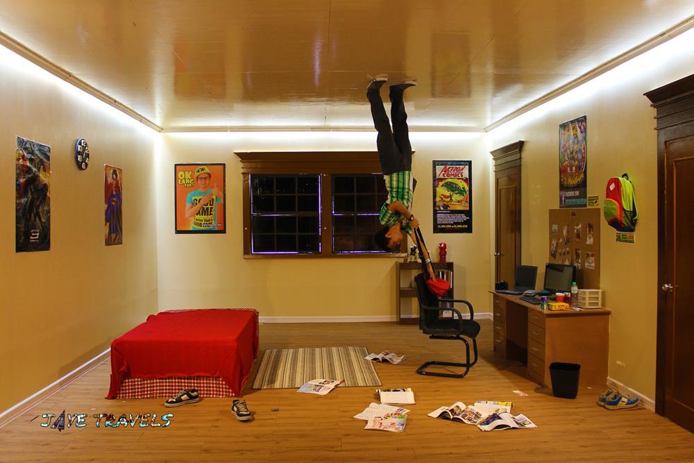 Upside Down Room Yexel's Toy Museum