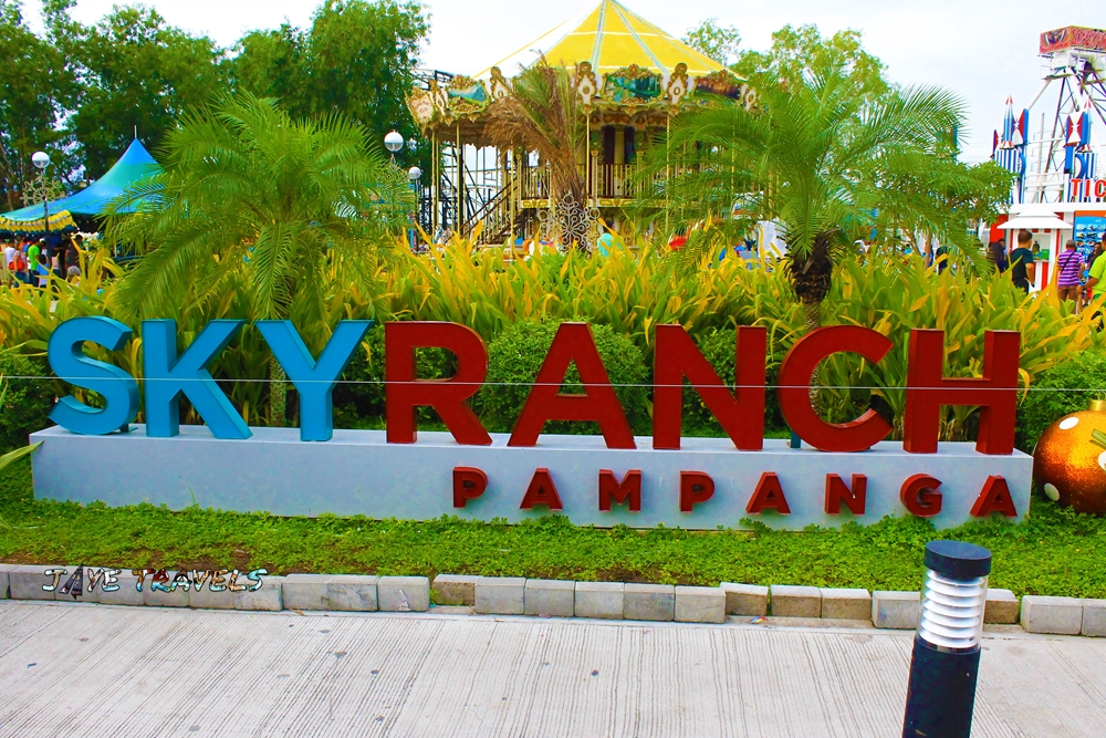 Sky Ranch Pampanga Jaye Travels