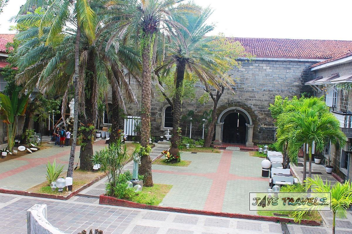 Courtyard of Barasoain Church