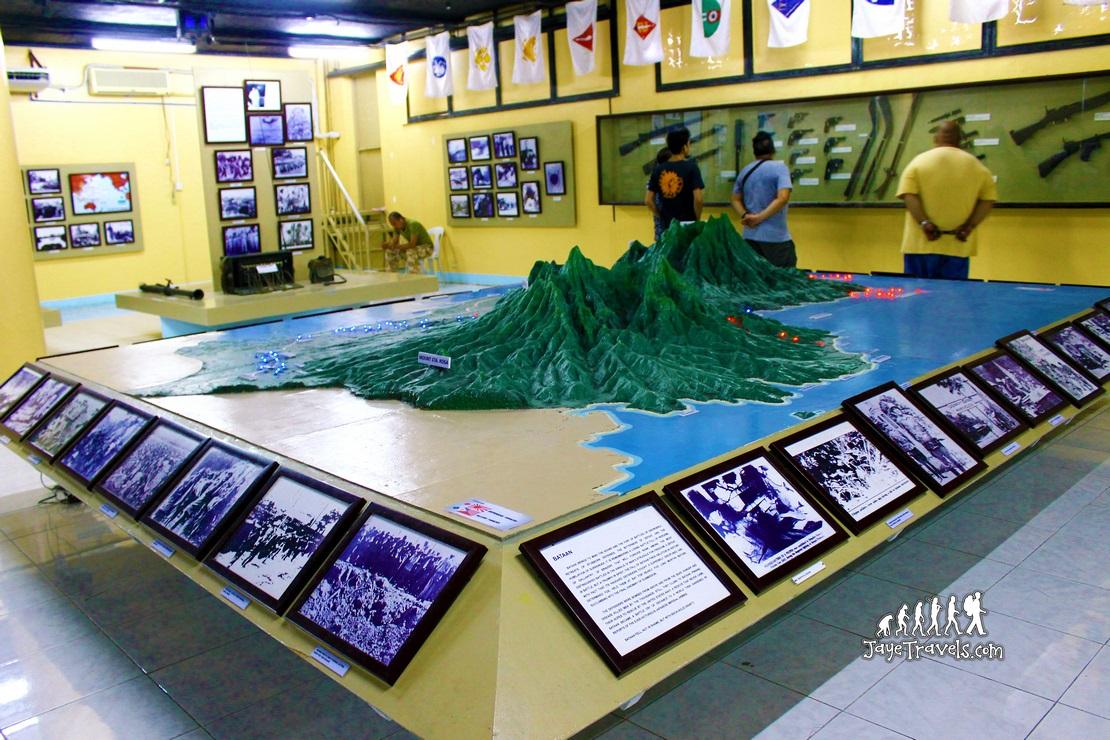Inside Mount Samat Museum