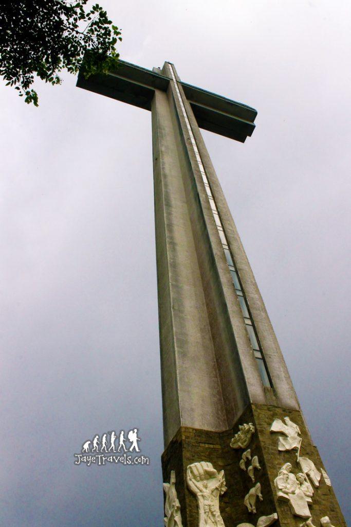 The Giant Cross in Mount Samat