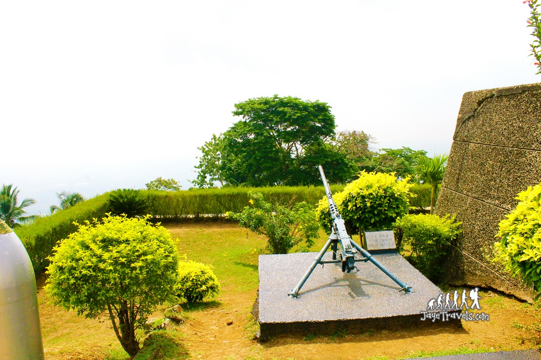 Historical Weapons used in the Battle of Bataan
